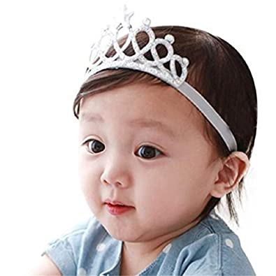 Ziory Silver Color Headbands with Tiaras Crowns Princess Head Band Photo  Props Crown Headband For Baby Boys and Baby Girls.  Amazon.in  Jewellery a94e9bd72a6a