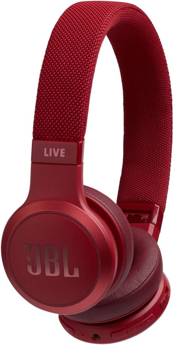 Auriculares inalámbricos JBL Live 400BT - Rojo