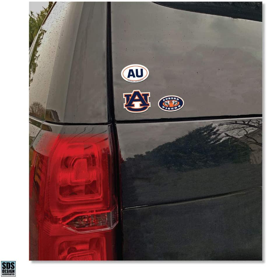 Elite Fan Shop NCAA 6 Vinyl Decal 3-Pack