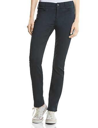c3dee923a95d26 Street One Women's QR Envy Straight Jeans, Blau (Dark Blue Clean Wash  11069), 44W/32L: Amazon.co.uk: Clothing