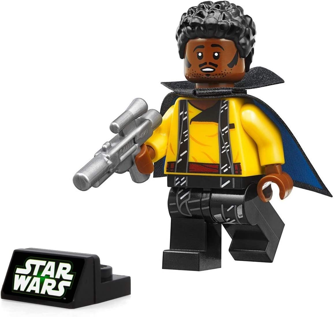 LEGO Solo: A Star Wars Story Minifigure - Lando Calrissian (with Blaster and Display Stand) 75212