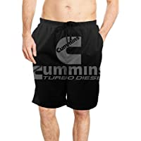 Oiyucv Mens Swim Trunks Green Leaves Quick Dry Board Shorts Bathing Suits Swimwear Volley Beach Trunks
