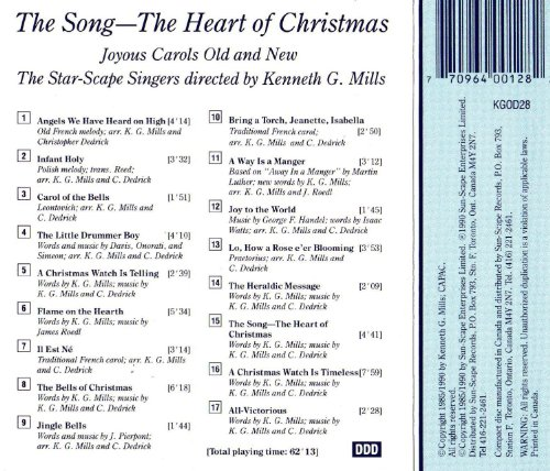the new star scape singers kenneth g mills the song the heart of christmas amazoncom music