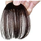 Remeehi Gorgeous Real Human Hair Flat Bangs/Fringe Hand Tied Bangs Mini Fashion Clip-in Hair Extension