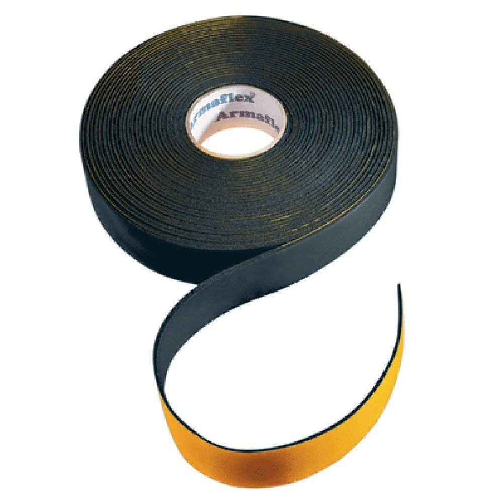 Ruban adhé sif type Armaflex isolant de tuyau 15 m x 3 mm x 50 mm L414 Armacell CO-TAPE