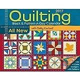 Quilting Block & Pattern-a-Day 2017 Calendar