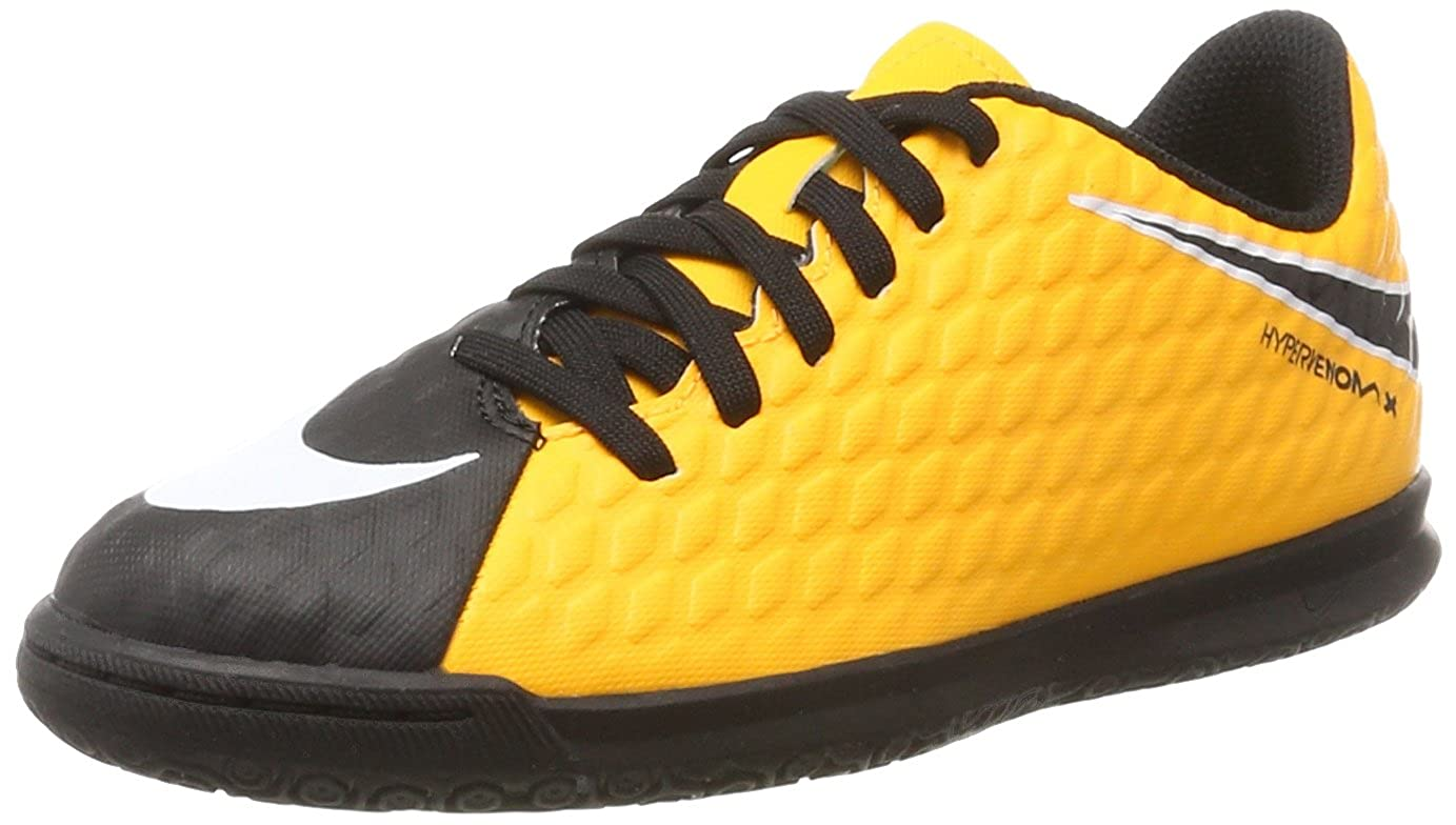Amazon.com: Nike Kids Hypervenom Phade III IC Soccer Little Kid/Big Kid Laser Orange/Black/Black/Volt Kids Shoes: Shoes