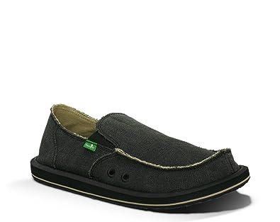 f9fec5e4770f1 Sanuk Men's Vagabond Big & Tall Loafers & Oxy Shoe Cleaner Bundle
