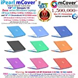 "iPearl mCover Hard Shell Case for 14"" HP Chromebook 14 G3 X000 Series, Chromebook 14 G4 (T4M32UT#ABA Series), Chromebook 14-ak000 Series, Stream 14-Z000 Series Windows laptops"
