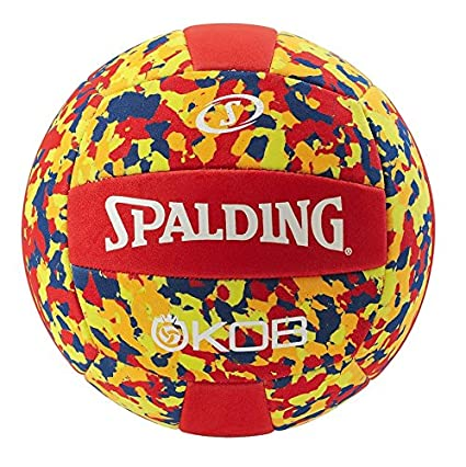 Spalding KOB 72-353Z Balón de Baloncesto, Unisex, Rojo/Amarillo, 5 ...