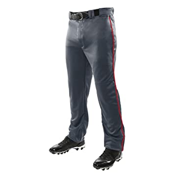 Champro Adult Triple Crown Piped Open Bottom Baseball Pants W// Adjustable Inseam