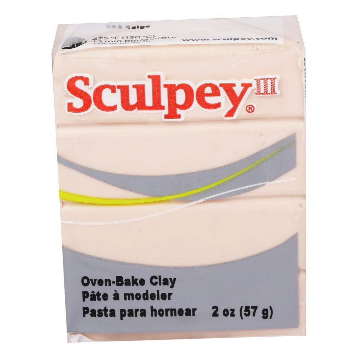 Premo Sculpey Polymer Clay 2 Ounces-Blush