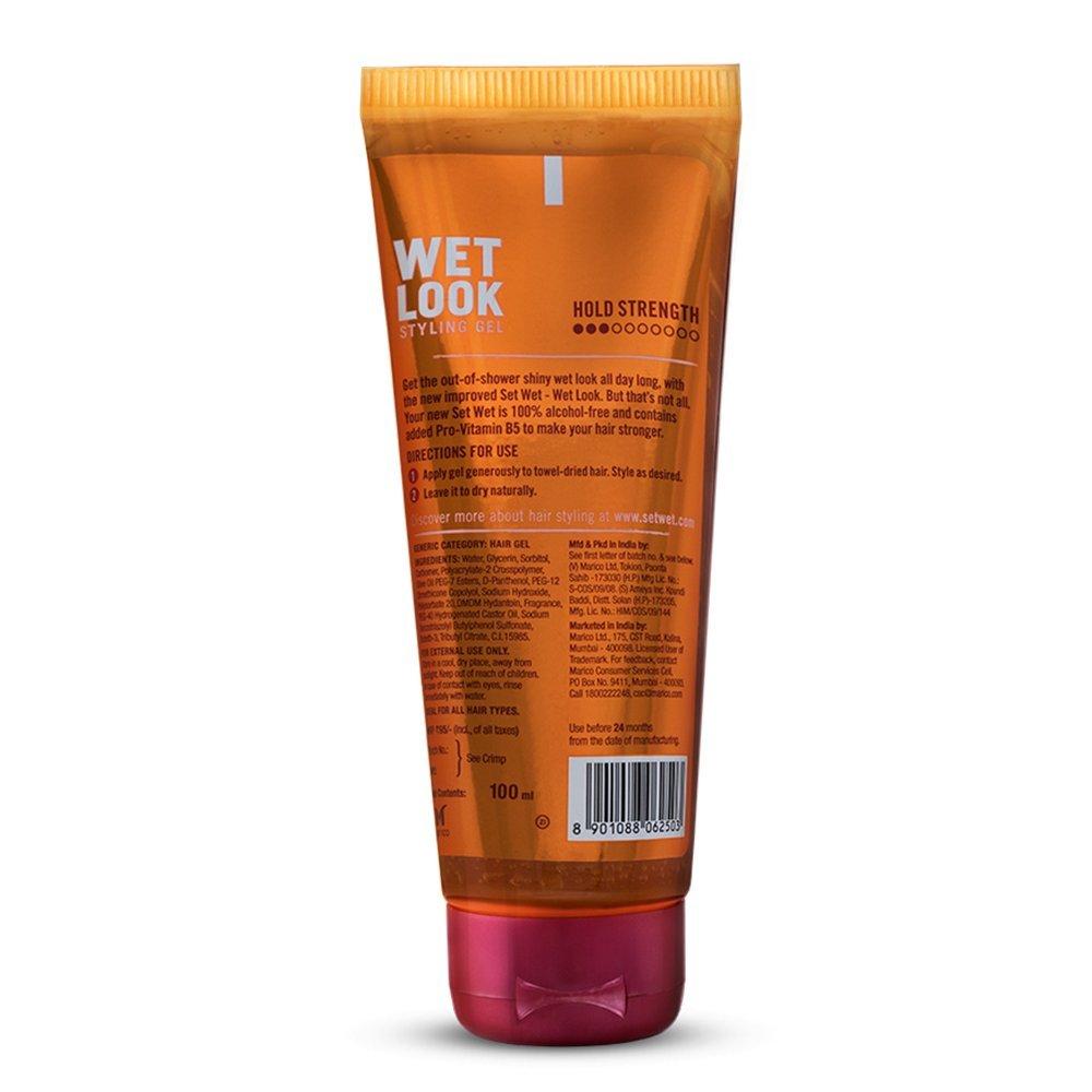 Set Wet Wet Look Hair Gel 100 Ml Tube Amazon In
