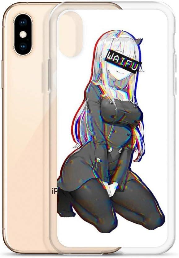shona Zero Two Waifu Case Cover Compatible for iPhone (X/XS)