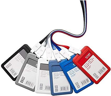 porte-cl/és gris /étui de bureau carte de bus Porte-cl/és portable pour carte didentit/é