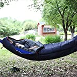 REDCAMP Hammock Mummy Sleeping Bag For Adults Portable Hammock Unerquilt For Camping Hiking Backpacking