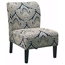 Signature Design by Ashley 5330360 Contemporary Accent Chair, Sapphire