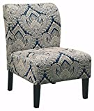 Armchair Sale Ashley Furniture Signature Design - Honnally Accent Chair - Contemporary Style - Sapphire