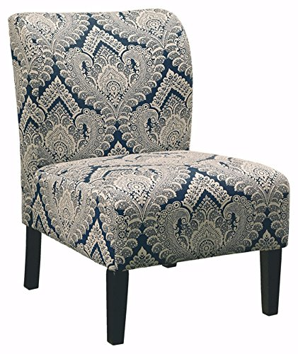 Ashley Furniture Signature Design – Honnally Accent Chair – Contemporary Style – Sapphire