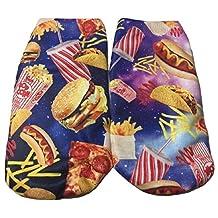 Tasty Treats Sticker Print Junior Womens' Ankle-No Show Socks 1 Pair