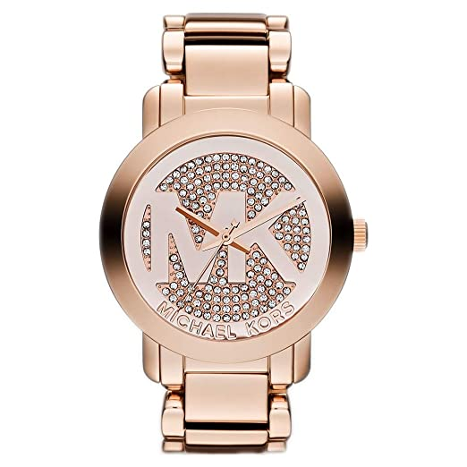 866401dd3ef7 Ladies Michael Kors Runway Watch MK3463  Amazon.co.uk  Watches