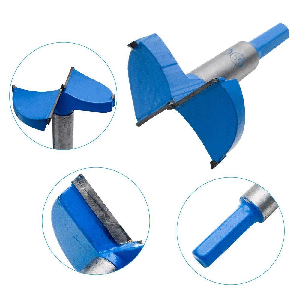 Forstner BE-tool Foret /à charni/ère pour scie cloche pour bois et plastique contreplaqu/é 15 mm-80 mm