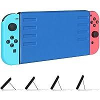 'Fintie Nintendo Switch Case–[múltiples ángulos de Secure] Ultra Slim Protector Funda con tapa con función atril [instalación rápida/Removal] [fácil para Modo TV] magnético para Nintendo Switch–Royal Blue
