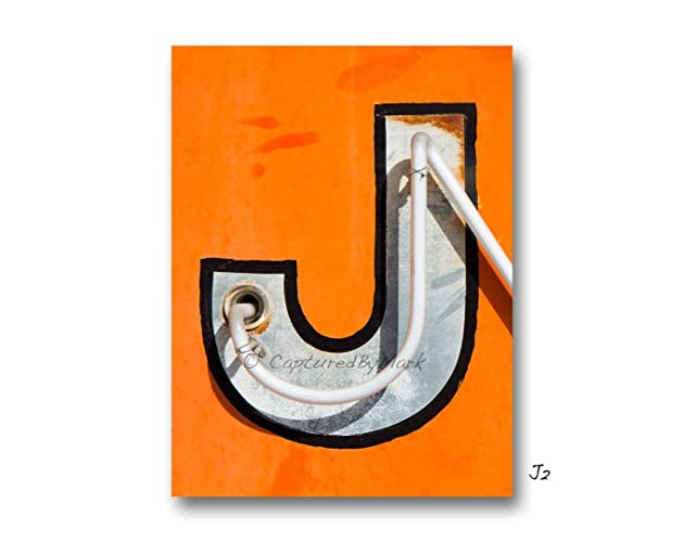 Regret, Vintage letter j that can