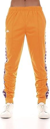 Kappa Pantalón de chándal para Hombre Tejido Naranja 303KUC0-A49 ...
