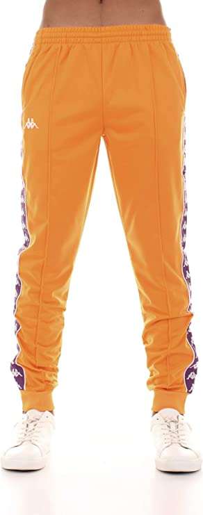 Es decir éxito Delgado  Kappa Pantalón de chándal para Hombre Tejido Naranja 303KUC0-A49:  Amazon.es: Ropa y accesorios