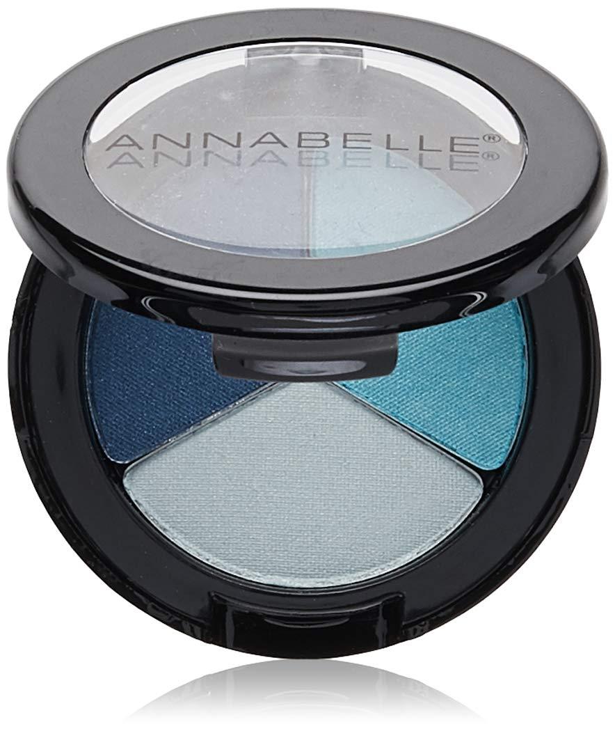 Annabelle Trio Eyeshadow, Blue Hue, 0.09 oz