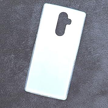 Prevoa Funda para DOOGEE Mix 2 - Silicona TPU Funda Case para DOOGEE Mix 2 Smartphone - Blanco