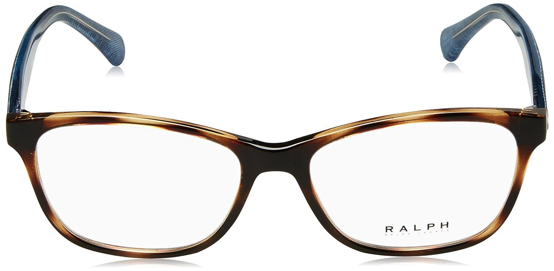 b4ef57f1f6f3 Ralph Lauren RA 7083 502, 54mm, Dark Havana, Eyewear Frames: Amazon.co.uk:  Clothing