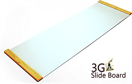 3G BLACK Premium Thick Slide Board 6ft x 2ft NEW