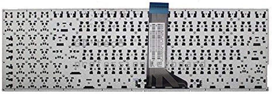 Laptop Keyboard Compatible for ASUS VM590L VM590LB VM590LD VM590LJ VM590LN VM590ZA VM590ZE US Black No Frame