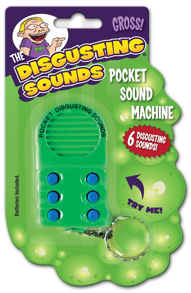 Amazon.com: Bigmouth Inc bolsillo repugnante sonidos máquina ...