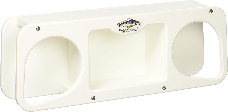 NEW 2X Boat Marine RV Dual Suction Cup Drink Cup Holder Caddy Storage Organizer