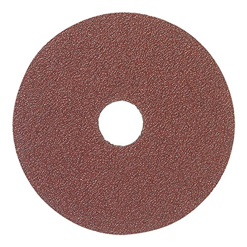 Mercer Industries 301050 50 Grit Aluminum Oxide Resin Fiber Discs (25 Pack), 4-1/2 x 7/8