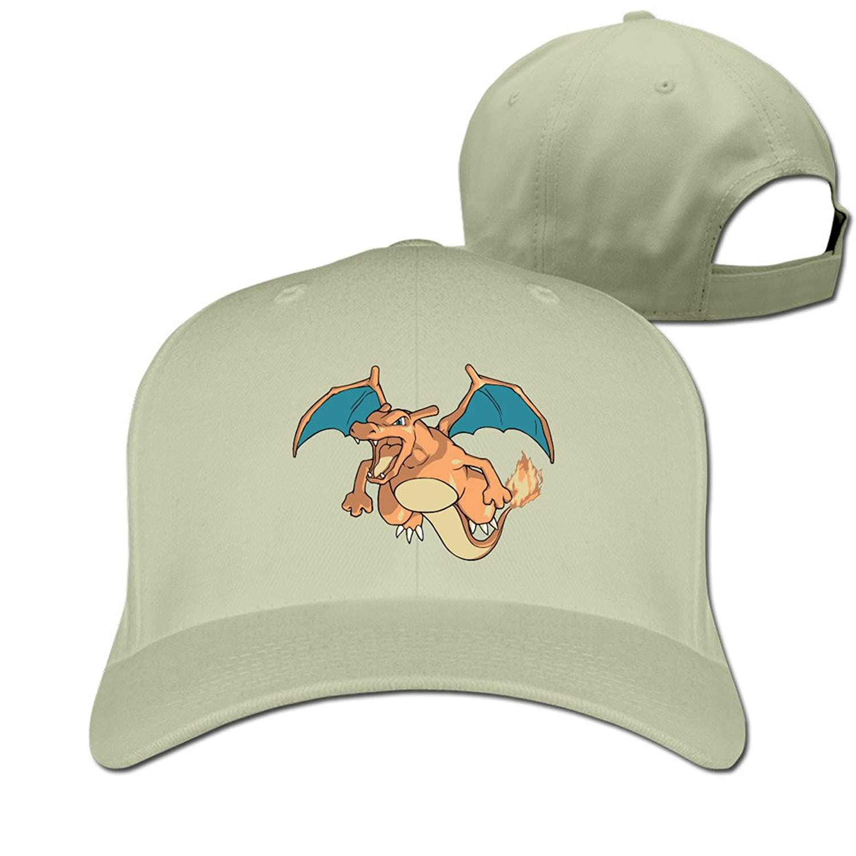 HNN Unisex Dragon Peaked Baseball Caps Hats