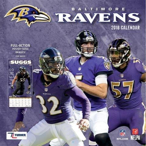 Paper Baltimore Ravens (Baltimore Ravens 2018 Wall Calendar)