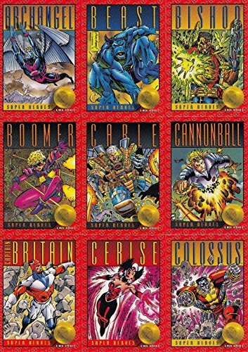 X-MEN SERIES 2 1993 SKYBOX COMPLETE BASE CARD SET OF 100 MARVEL (Cards Trading Book Comic)