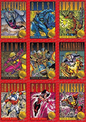 X-MEN SERIES 2 1993 SKYBOX COMPLETE BASE CARD SET OF 100 MARVEL