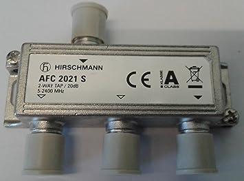 Hirschmann - Derivador 2 Salidas 20 dB Banda 5-2.400 MHz ...
