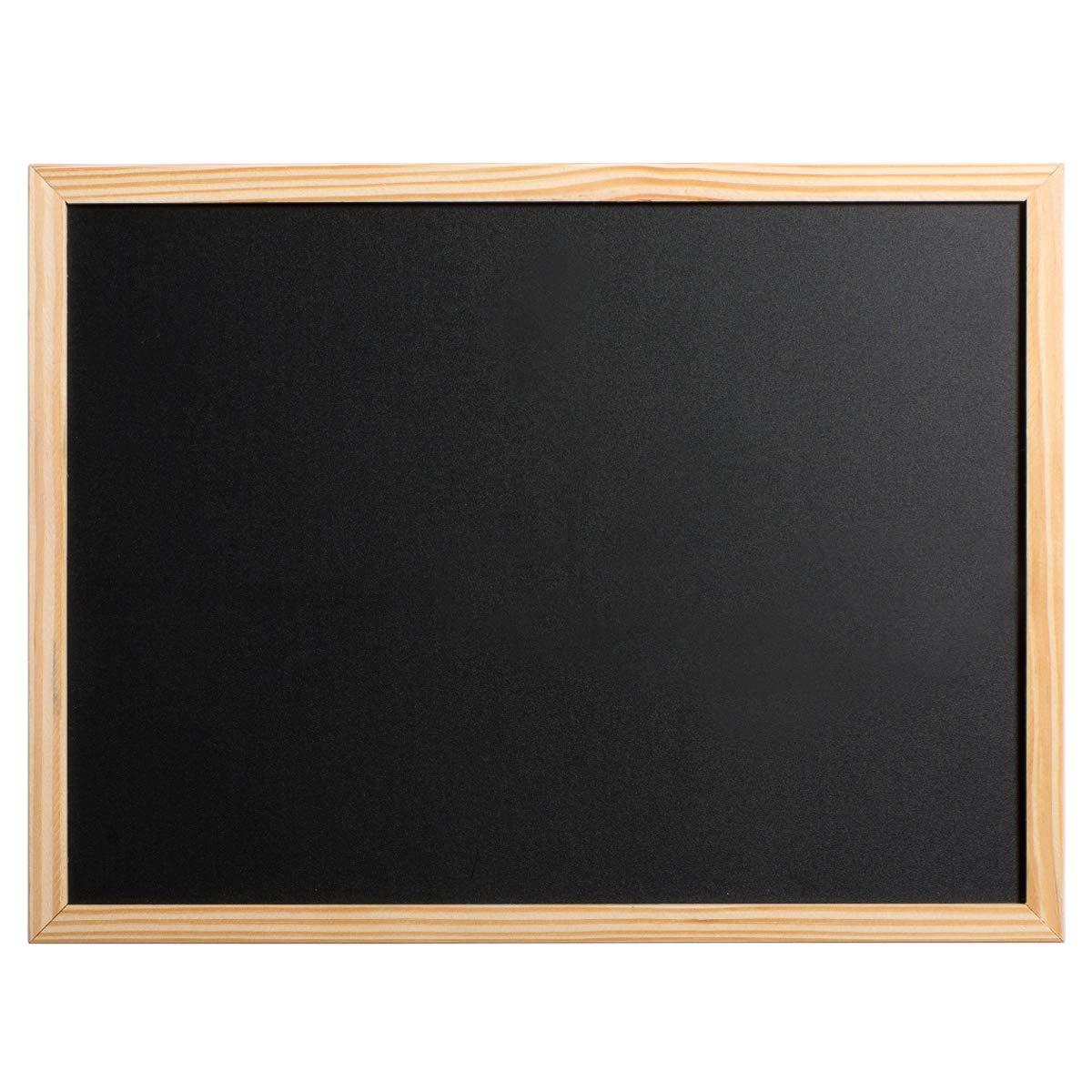 Marble Field 16'x12' Chalkboard Wall Mounted Blackboard Signboard Kitchen Board, Wood Frame