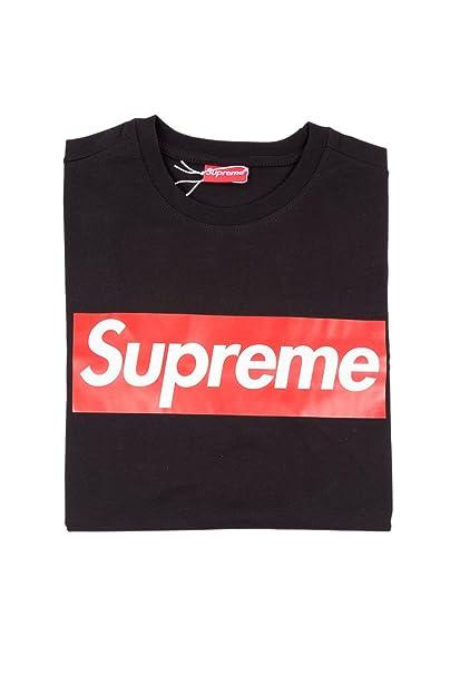 Supreme - Camiseta - para hombre negro Large