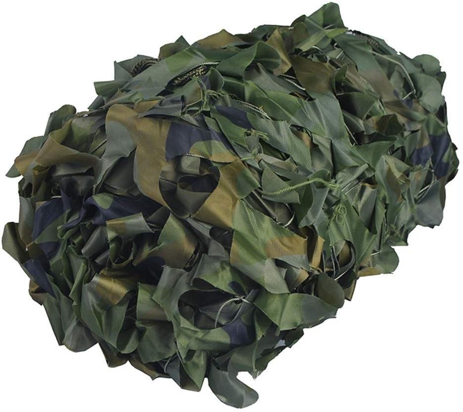 ガーデンシェードネット 迷彩ネット150 Dオックスフォード生地キャンプ軍のための屋外の空中写真、ジャングル迷彩 ギラン HH (Color : A, Size : 6x8m) A 6x8m