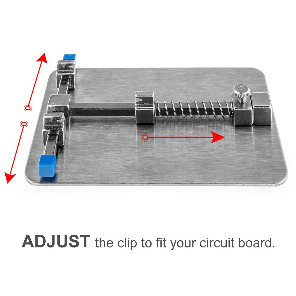 Vastar Pcb Circuit Board Holder With Cleaning Cloth Cut Cutter Manual For Cutting Metal