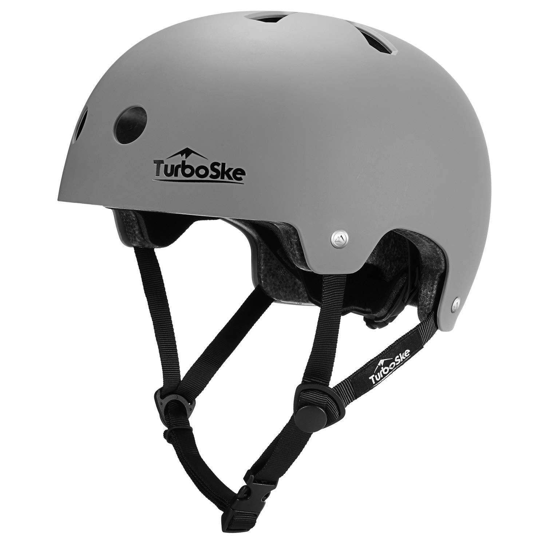 TurboSke Skateboard Helmet, Cycling Helmet, Scooter Helmet for Youth, Men, Women, Adult by TurboSke
