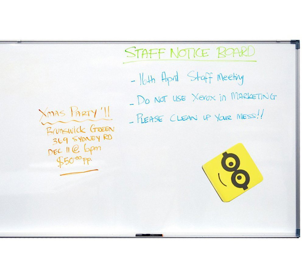 Hibery 12 Pack Magnetic Dry Whiteboard Eraser in Square Shape - Magnetic For Cleaning Dry Erase Pens and Markers Off White Boards for Office, Home, School and Perfect Gift for kids by Hibery (Image #6)