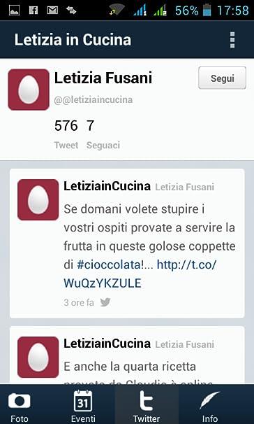 Amazon.com: Letizia in Cucina: Appstore for Android